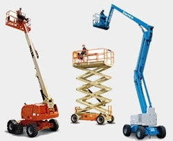 Selection of Access Equipment for Hire